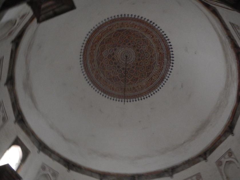 tombe-isa-khan-plafond-tombeau-humayun-delhi